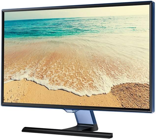 """Телевизор LED 23.6"""" Samsung T24E390EX черный/синий - фото 2"""