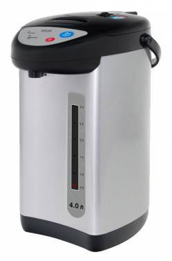 Термопот Mystery MTP-2452 черный / серебристый