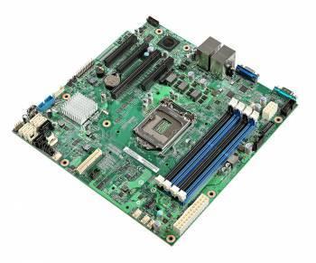 Серверная материнская плата Soc-1150 Intel DBS1200V3RPS mATX Ret