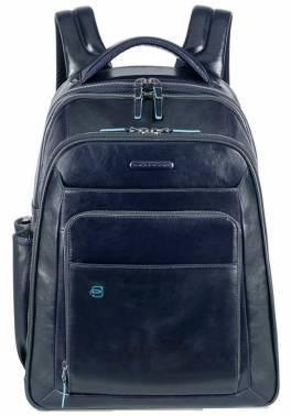 Рюкзак Piquadro Blue Square синий, кожа натуральная (CA1813B2/BLU2)