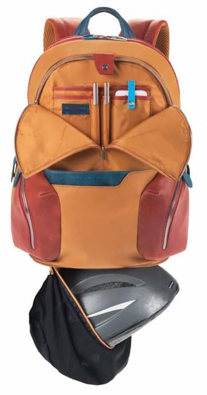 Рюкзак Piquadro Coleos черный, кожа натуральная и искусственная (CA2943OS/N) - фото 4