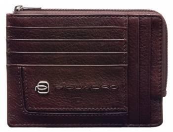 Чехол для кредитных карт Piquadro Vibe PU1243VI / TM темно-коричневый натур.кожа