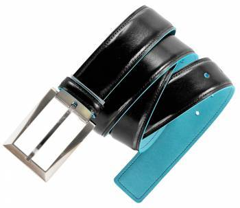 Ремень Piquadro Blue Square CU1521B2 / N черный натур.кожа