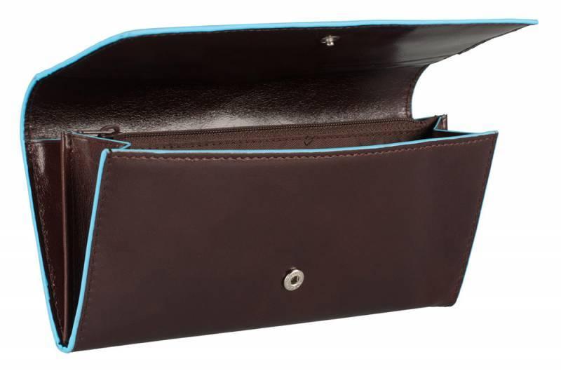 Кошелек женский Piquadro Blue Square PD3211B2/MO коричневый натур.кожа - фото 3