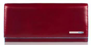 Кошелек женский Piquadro Blue Square красный, кожа натуральная (PD3211B2/R)