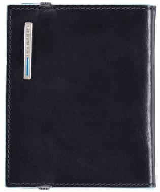 Чехол для кредитных карт Piquadro Blue Square PP1395B2 / BLU2 темно-синий натур.кожа