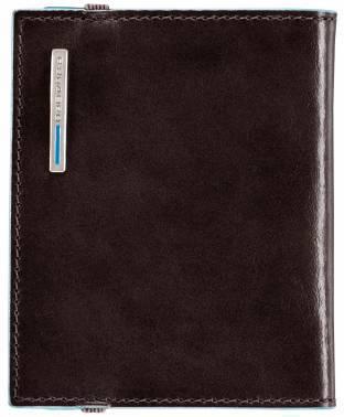 Чехол для кредитных карт Piquadro Blue Square PP1395B2 / MO коричневый натур.кожа