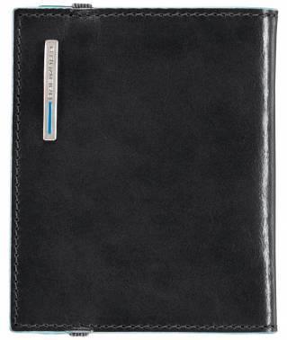 Чехол для кредитных карт Piquadro Blue Square PP1395B2/N черный натур.кожа