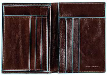 Кошелек мужской Piquadro Blue Square PU1129B2 / MO коричневый натур.кожа