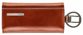 Ключница Piquadro Blue Square PC1397B2 / AR оранжевый натур.кожа