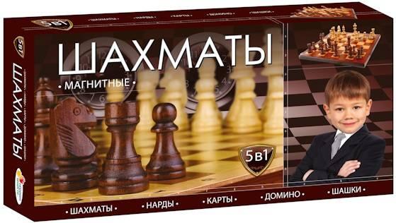 Настольная игра Играем Вместе Шахматы магнитные (от 5 лет) - фото 1