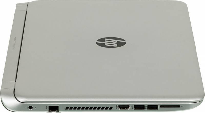 "Ноутбук 15.6"" HP Pavilion 15-p270ur серебристый - фото 5"