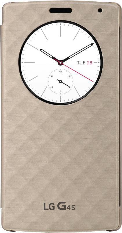 Чехол LG LGH736 Quick Circle, для LG G4s, белый (CFV-110.AGRAWH) - фото 1