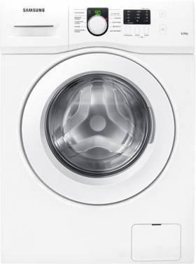 Стиральная машина Samsung WF60F1R0H0W, белый корпус, белый люк, фронтальная загрузка до 6кг, максимальная скорость отжима 1000об/мин