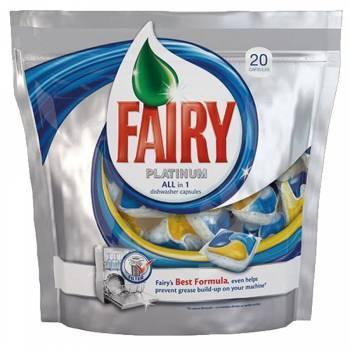 Средство для мытья посуды для посудомоечных машин Fairy Platinum All-in-1