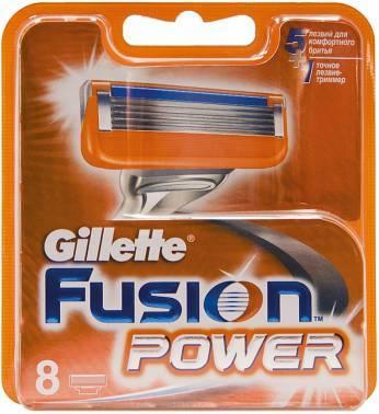 Сменная кассета Gillette Fusion Power (81382403)