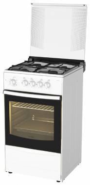 Плита газовая Darina 1B1 GM 441 018 W белый/черный