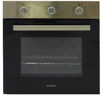 Духовой шкаф электрический Darina 1U5 BDE 111 707 X серебристый
