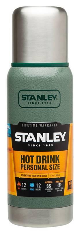 Термос Stanley Adventure зеленый (10-01562-005) - фото 1