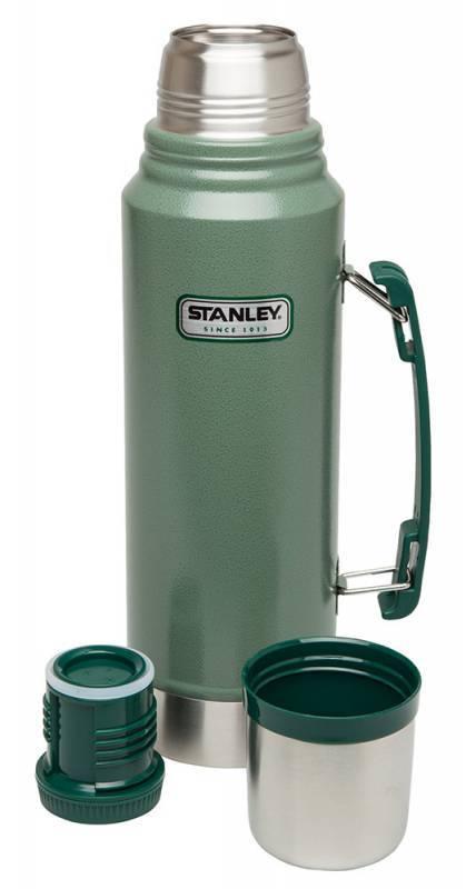 Термос Stanley Legendary Classic темно-зеленый - фото 1