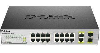 Коммутатор неуправляемый D-Link DES-1018P/A2A