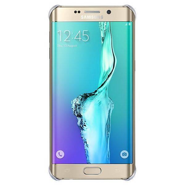Чехол Samsung GloCover G928, для Samsung Galaxy S6 Edge Plus, золотистый (EF-QG928MFEGRU) - фото 1