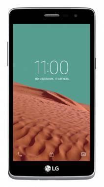 Смартфон LG X155 Max золотистый, встроенная память 8Gb, дисплей 5 854x480, Android 5.0, камера 5Mpix, поддержка 3G, 2Sim, WiFi, BT, microSDHC до 32Gb (LGX155.ACISSG)