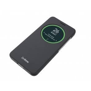 Чехол Asus View Flip Cover, для Asus ZenFone GO ZC500TG, черный (90AC00Q0-BCV001)