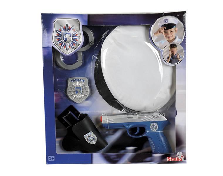 Игровой набор полицейский набор Simba с принадлежностями от 3 лет - фото 1