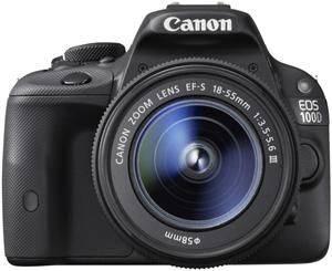 Фотоаппарат Canon EOS 100D 1 объектив черный