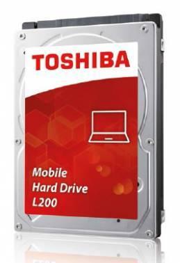 Жесткий диск Toshiba L200 HDWJ110UZSVA, объем 1Tb, форм-фактор 2.5, буферная память 8МБ, скорость вращения шпинделя 5400 об/мин, интерфейс SATA-II