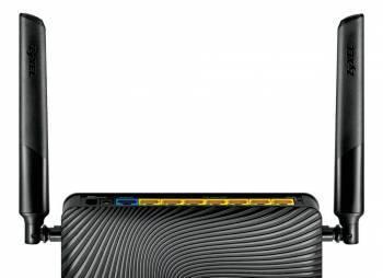 Беспроводной маршрутизатор Zyxel Keenetic Ultra II черный