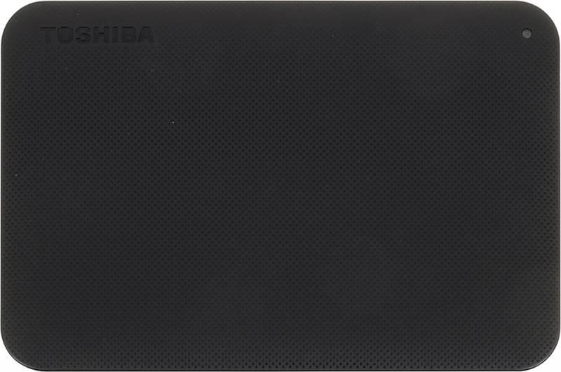 Внешний жесткий диск 500Gb Toshiba Canvio Ready HDTP205EK3AA черный USB 3.0 - фото 1