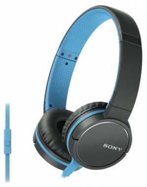Гарнитура Sony MDRZX660APL.E синий/черный