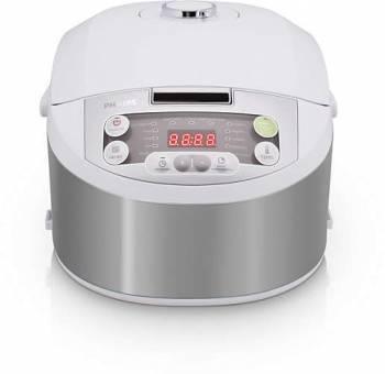 Мультиварка Philips HD3136/03 серебристый/белый