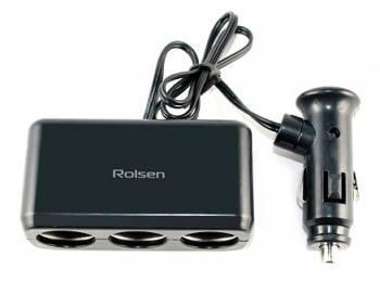 Разветвитель розетки прикуривателя Rolsen RPA-12P3