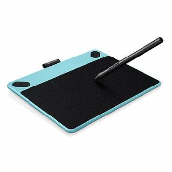 Графический планшет Wacom Intuos Draw Pen S CTL-490DB-N голубой