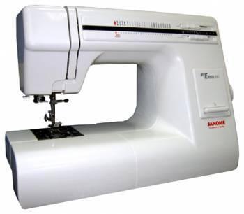 Швейная машина Janome 23L белый, электромеханическая, челнок горизонтальный, автоматическое выполнение петель