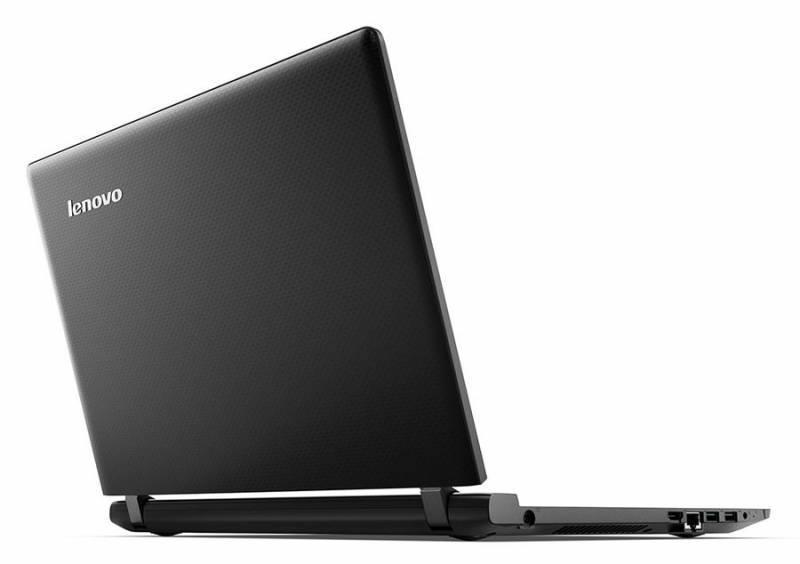 "Ноутбук 15.6"" Lenovo IdeaPad 100-15IBY (80MJ00DQRK) черный - фото 2"