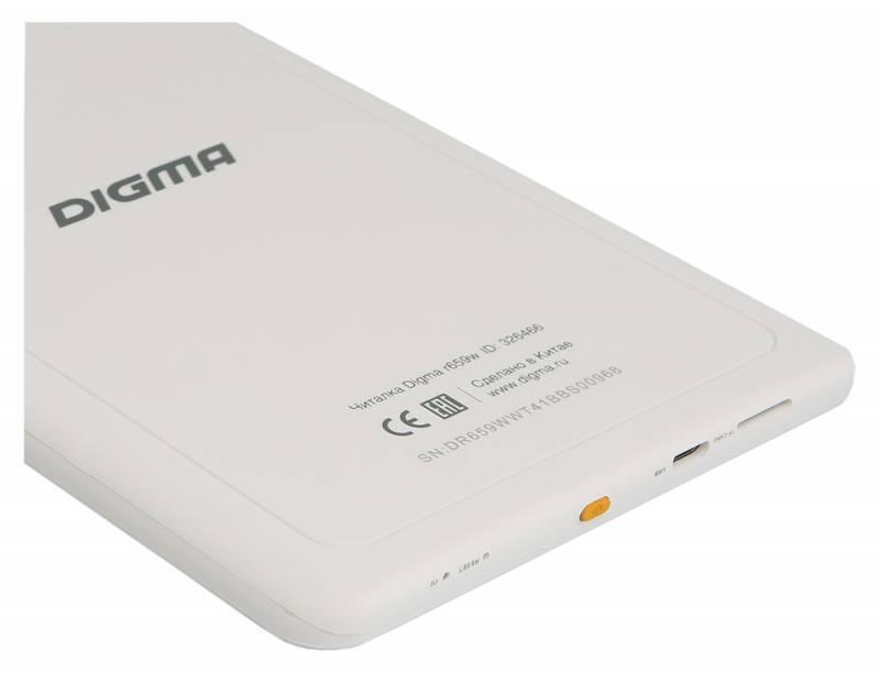 Электронная книга Digma R659W  E-ink HD Pearl Rockchip RK2818 4096Мб белый - фото 4