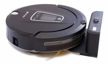 Робот-пылесос Kitfort КТ-512 черный, мощность 25Вт, уборка: сухая, объем пылесборника 0.35л, мощность всасывания 22Вт