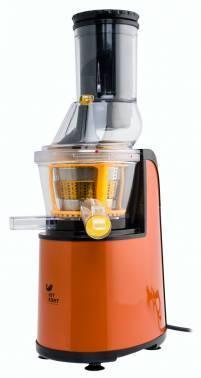 Соковыжималка шнековая Kitfort КТ-1102-1 оранжевый