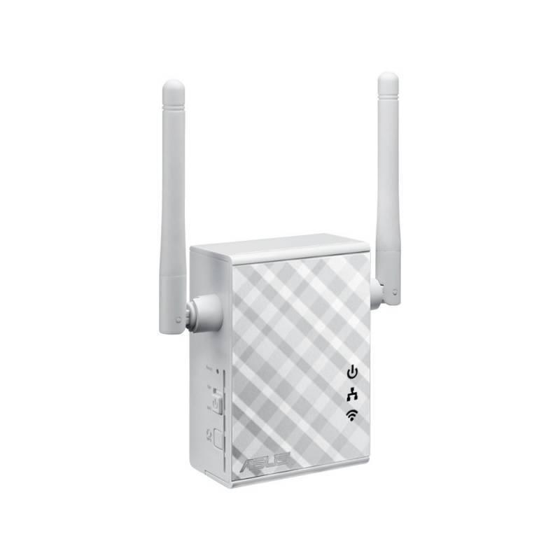 Повторитель беспроводного сигнала/мост Asus RP-N12 белый - фото 2
