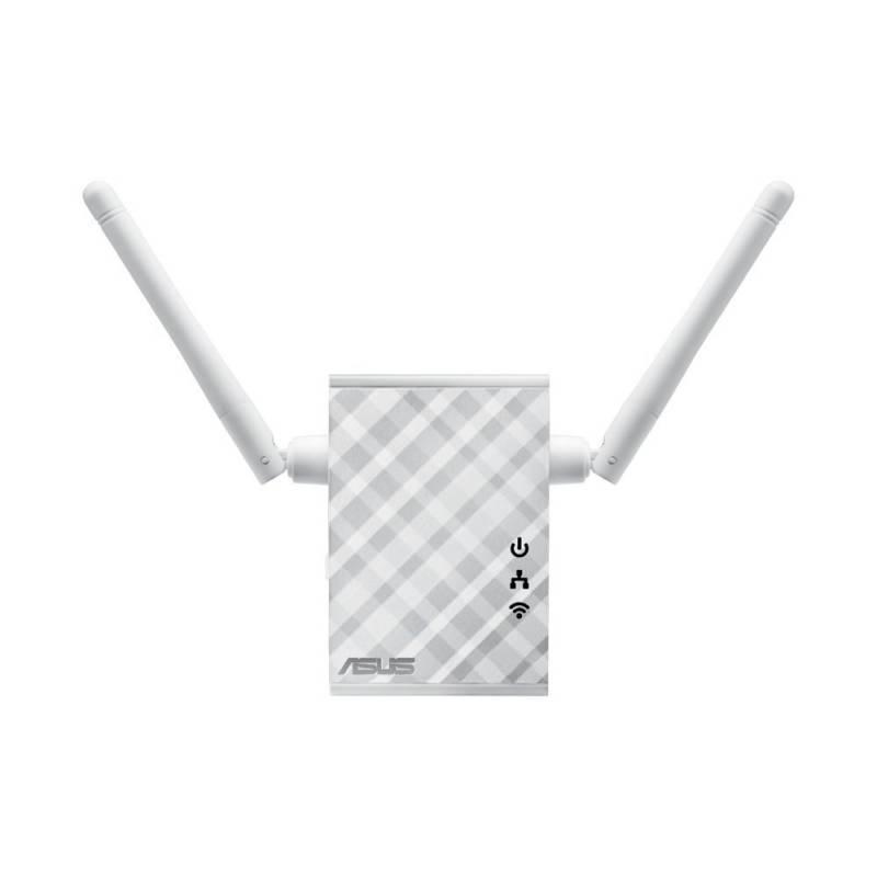 Повторитель беспроводного сигнала/мост Asus RP-N12 белый - фото 3