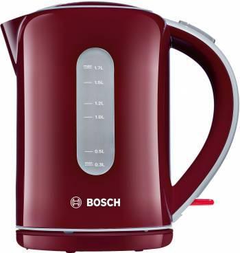 Чайник электрический Bosch TWK7604 бордовый