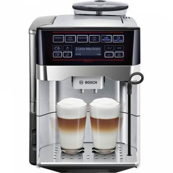 Кофемашина Bosch TES60729RW черный / серебристый