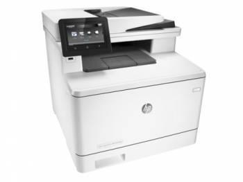 МФУ HP Color LaserJet Pro M477fnw белый/белый (CF377A)