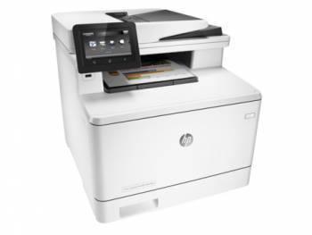 МФУ HP Color LaserJet Pro M477fdn белый/белый (CF378A)