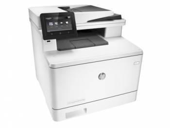 МФУ HP Color LaserJet Pro M477fdw белый/белый (CF379A)