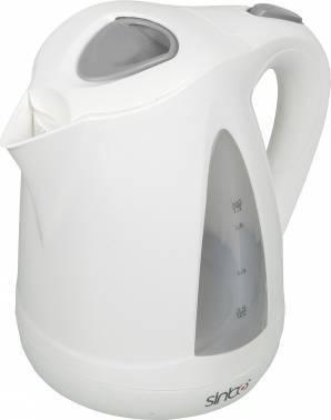 Чайник электрический Sinbo SK 7324 белый, объём 1.7л, мощность 2000Вт, материал корпуса: пластик